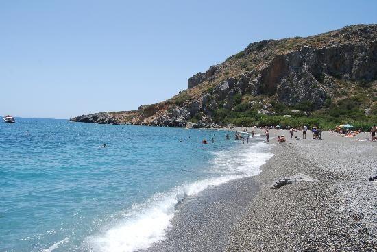 Preveli beach; Crete