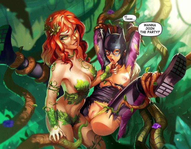 Women of dc universe nude