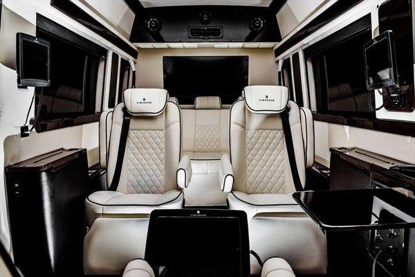 Mercedes benz sprinter 2500 crew luxury van jet van for Mercedes benz sprinter luxury van