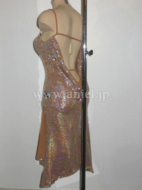 社交ダンスドレスのドレスネットアニエル / VESA【ジョアンナ着用】ブラックプールスポンサードレス