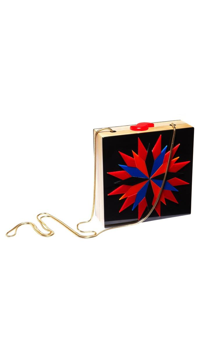 LOOL Sunburst Box Clutch at Moda Operandi