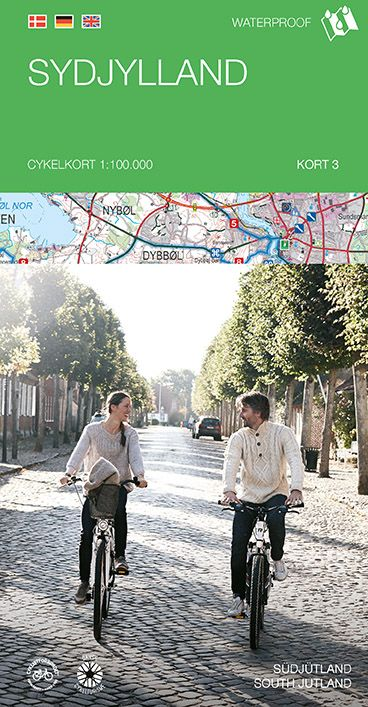 Cykelkort Sydjylland