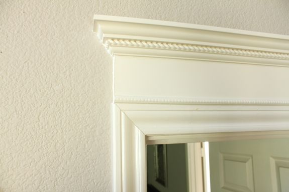 65 best trim door window images on pinterest crown for Over door decorative molding