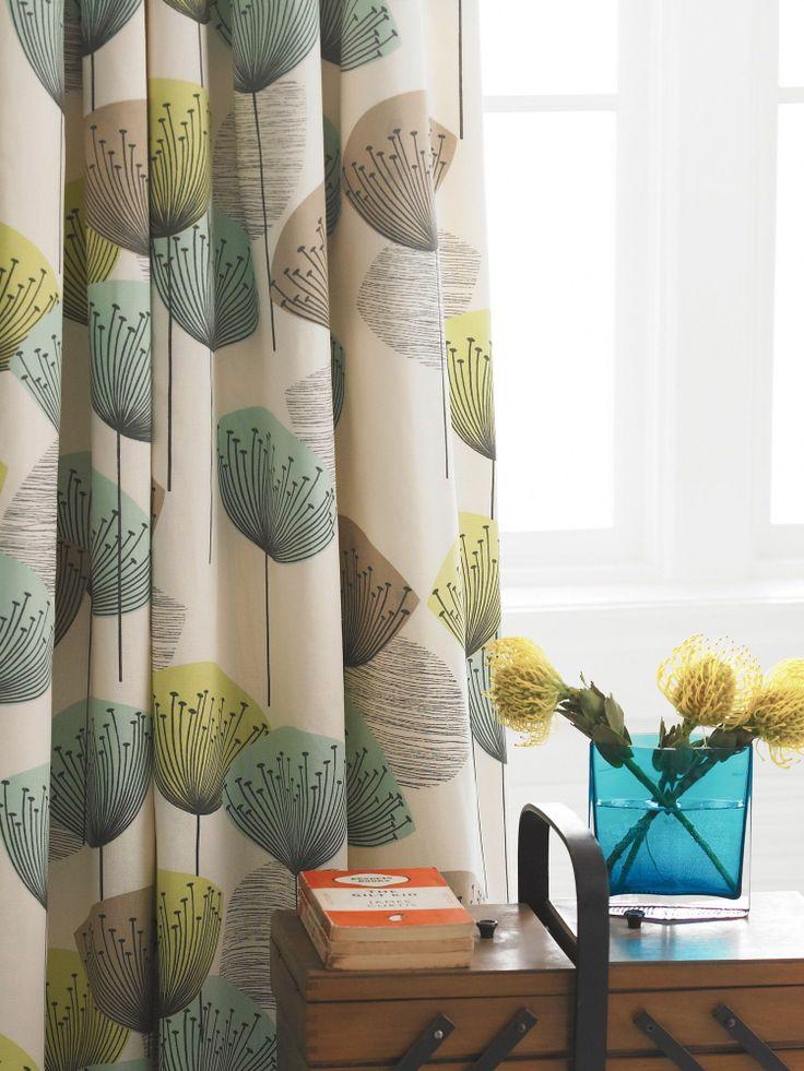 Sanderson clocks curtains