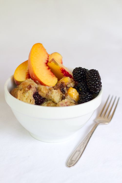 how to make bread pudding with sliced bread