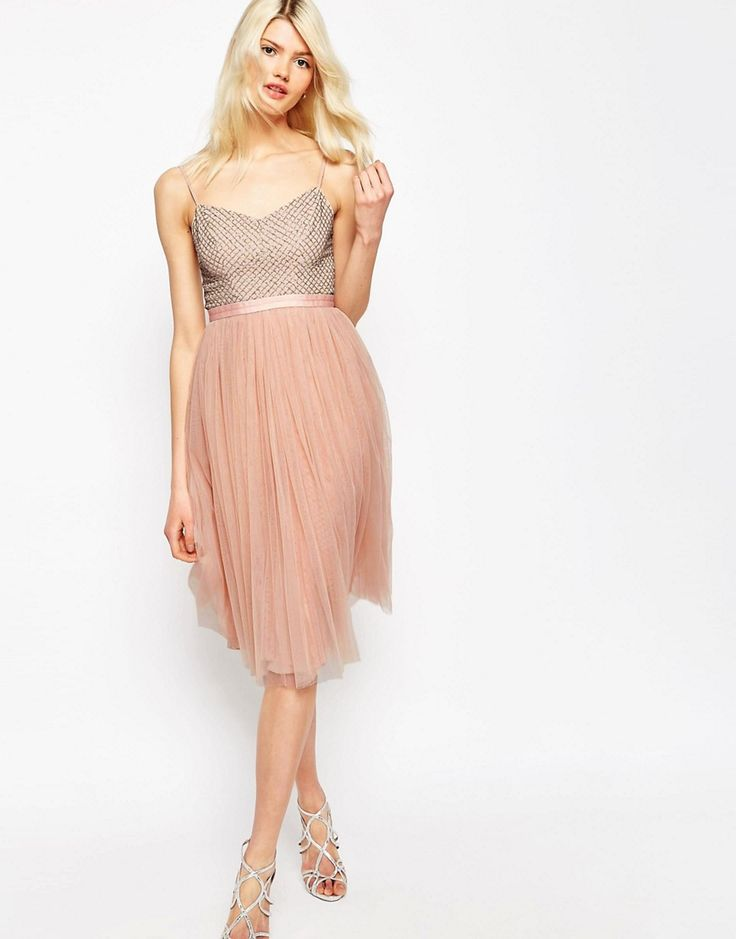 Image 1 ofNeedle & Thread Coppelia Embellished Ballet Tulle Dress