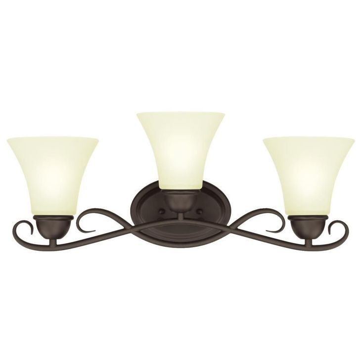 interesting bathroom light fixtures%0A Westinghouse Dunmore  Light Oil Rubbed Bronze Wall Mount Bath Light