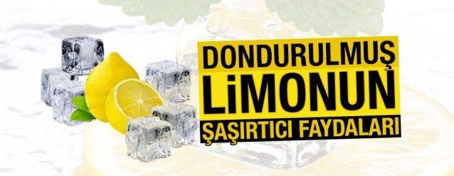Donmuş limonun inanılmaz mucizesi! Mutlaka deneyin!