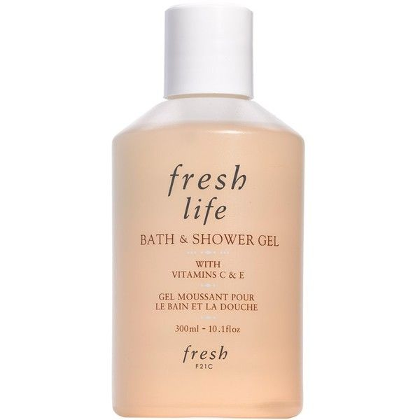 Women's Fresh 'Life' Bath & Shower Gel ($19) ❤ liked on Polyvore featuring beauty products, bath & body products, body cleansers, fillers, beauty, makeup, cosmetics, & - fillers - beauty and no color