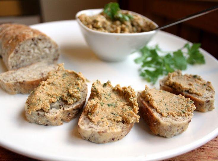 Veganmisjonen: Linsepostei med gressløk