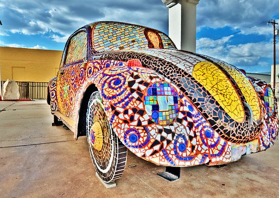 Mosaic Beetle - San Angelo , Texas by jphall