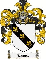 simmons family crest. eaves coat of arms / family crest simmons d