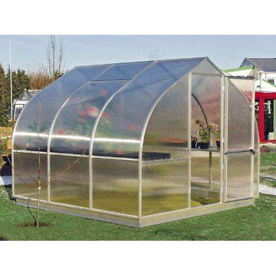 Hoklartherm RIGA III 9.6 x 10.5-Foot Greenhouse, Durable