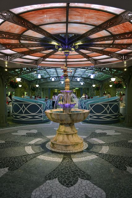 Disney Fantasy Enchanted Garden restaurant