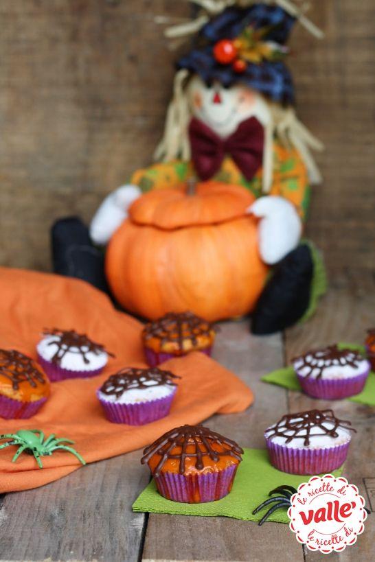 Tortine con zucca e amaretti per #Halloween  Dolcetto o scherzetto?