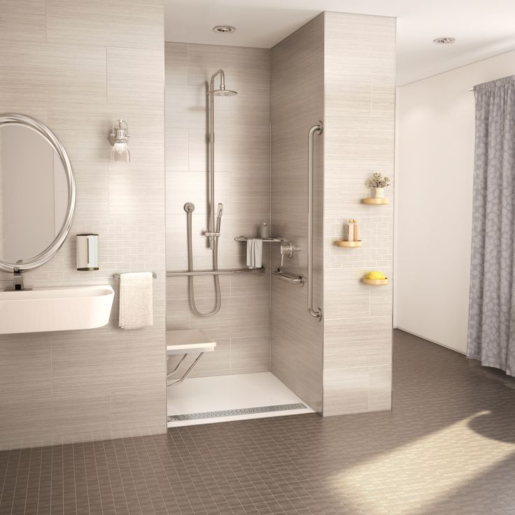 17 best images about fleurco ada shower bases on pinterest for Types of walk in showers