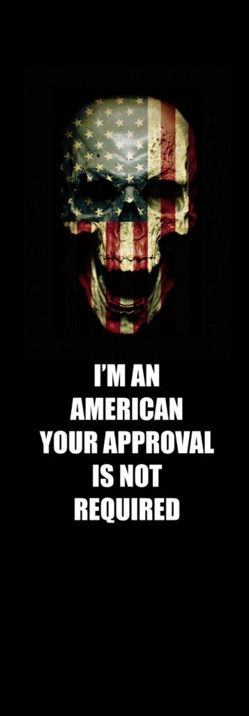 USA Flag Skull Door wrap – Rm wraps Store
