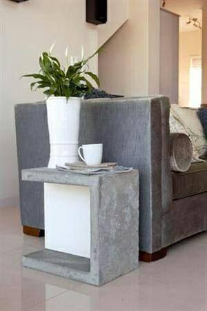 Bastelbeton - concrete - Deko aus Beton