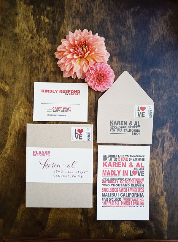 wedding renewal invitation ideas%0A Not a wedding  but an anniversary party  I u    m pretty much obsessed with