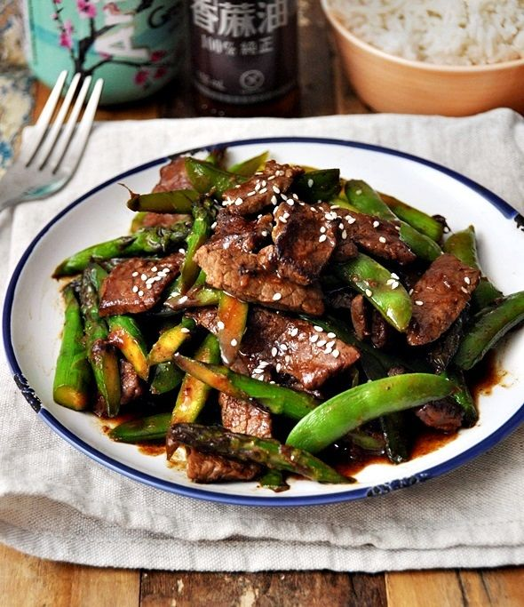 Stir-Fried Beef with Five Spice, Hoisin Sauce & Vegetables Recipe