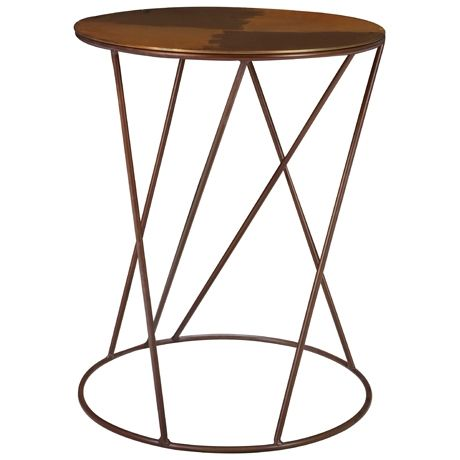Spaghetti Occasional Table. I also love this for somewhere in the lounge. Metallics bring at bit of wow/sophistication to a room
