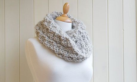 Knitting pattern: Kilmorey Snood