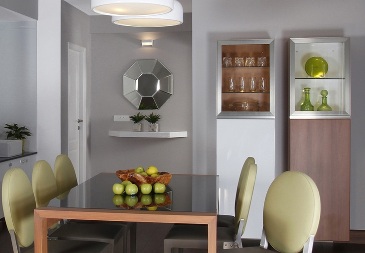 Dining Room Crockery Unit - Skyline Ivy League    SAVIO and RUPA Interior Concepts Bangalore | professional apartment interior designers Banglaore | Modern villa Interior Designers | Residential Interior Designs