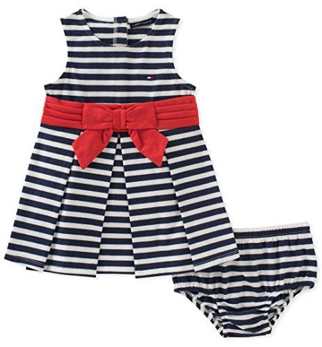 2fcc8e5d5df Tommy Hilfiger Baby Girls Dress with Panty | Finley Amelia Rose ...