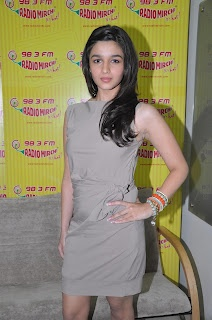 "Movie ""Student of the Year"" Promotions at Radio Mirchi and Red FM Studios. 
