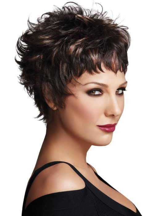 Easy Edge by Daisy Fuentes - Beautiful Short Curly Haircuts
