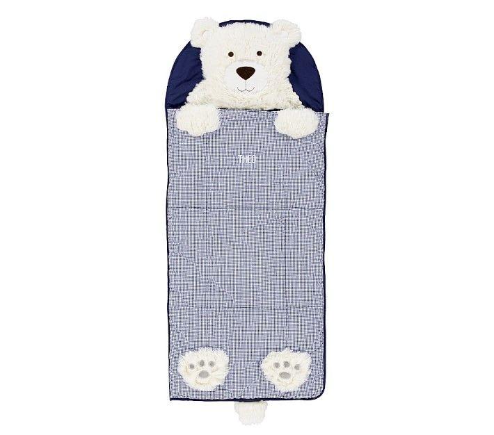 Shaggy Head Bear Sleeping Bag In 2020 Bear Sleeping Bags