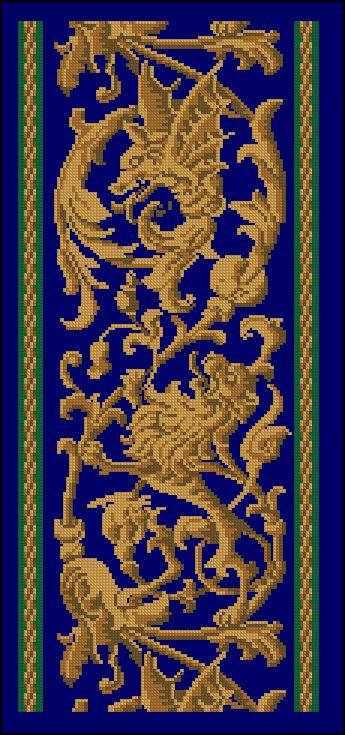 Славянские обереги и их схемы вышивка