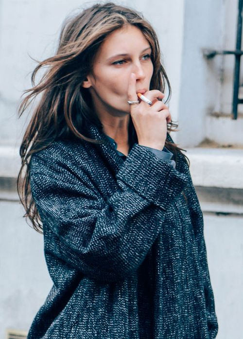 vacthdaily:  Marine Vacth photographed by Tommy Ton in Paris, September 25, 2013.