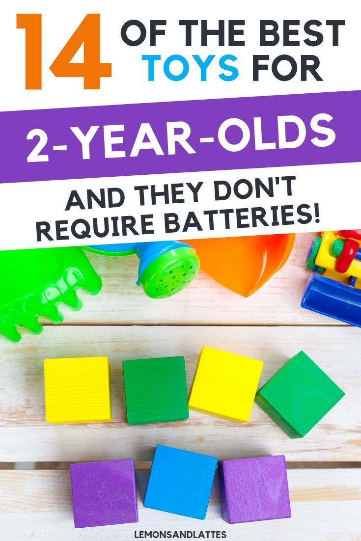 14+ Age Appropriate Toy Ideas for 2YearOlds (With images
