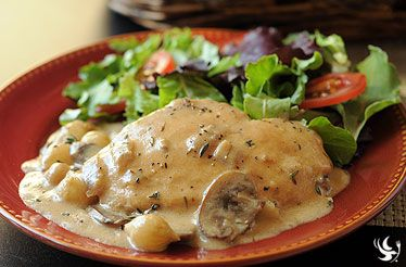 Sherry Cream Chicken | Yummy Goodness | Pinterest