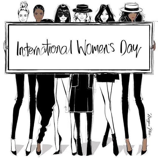 International Women's Day - Megan Hess Illustration