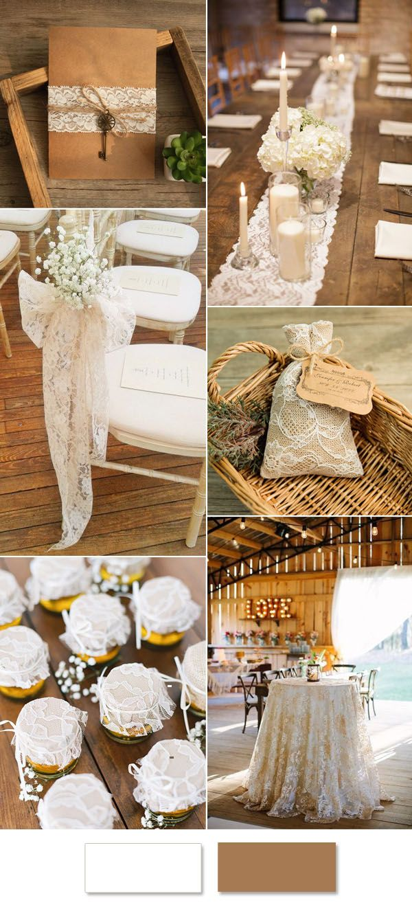 How to Incorporate Lace Into Your Weddings