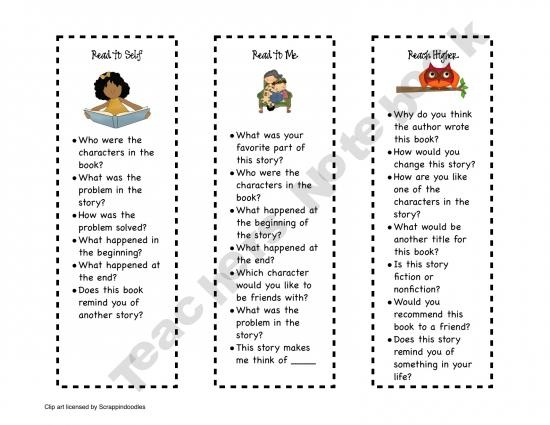 Could use this for Daily Five centers such as Read to Self