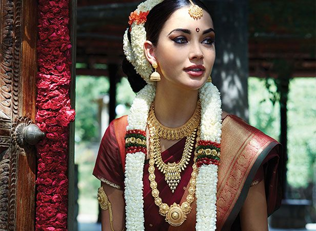 Tanishq Tamilian Bride Wedding Jewellery Collection(6)