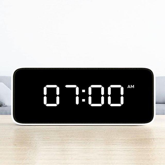 Xiaomi Xiaoai Smart Voice Broadcast Alarm Clock Dynamic Alarm
