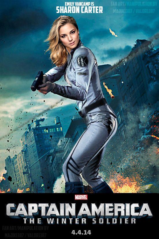 S.H.I.E.L.D. Agent 13/Sharon Carter in 'Captain America: The Winter Soldier'.