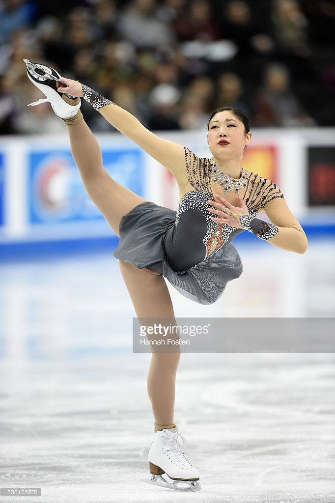 Mirai Nagasu competes in the Ladies' Short Program at the 2016 Prudential U.S. Figure Skating Championship on January 21, 2016 at Xcel Energy Center in St Paul, Minnesota.
