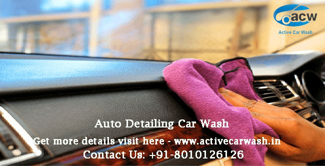 Active car wash offering you the  best and excellent auto detailing car wash & car cleaning services in Delhi/Ncr at your economical rates.  Visit Us: http://www.activecarwash.in/