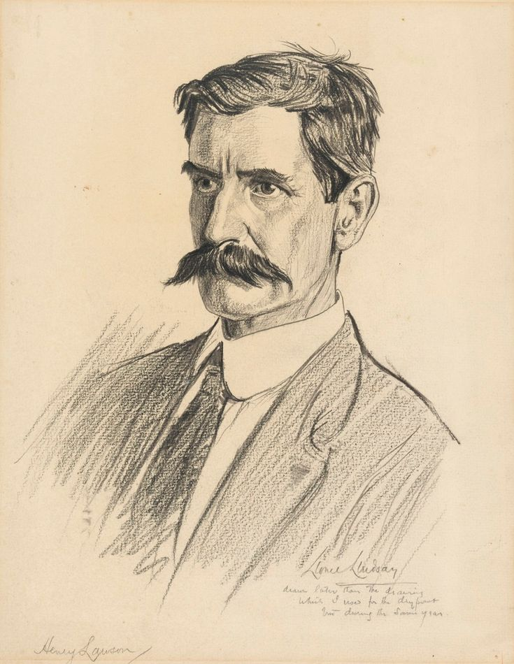 Henry Lawson by Lionel Lindsay - Google Search