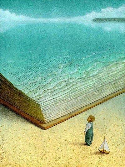 Lire, cest plonger et nager dans limaginaire. / Ocean of Imagination. / By Pawel Kuczynski. . . . . . der Blog für den Gentleman - www.thegentlemanclub.de/blog