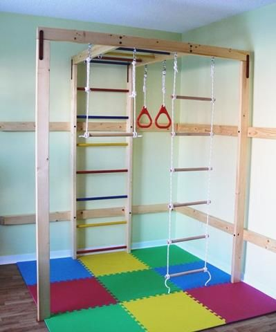 The 25 best indoor jungle gym ideas on pinterest kids for Jungle gym home