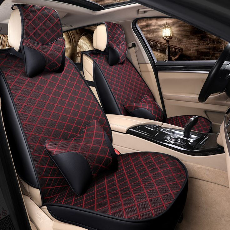 Nice Toyota Highlander 2017 Four Seasons General Car Seat Cushions Covers Styling