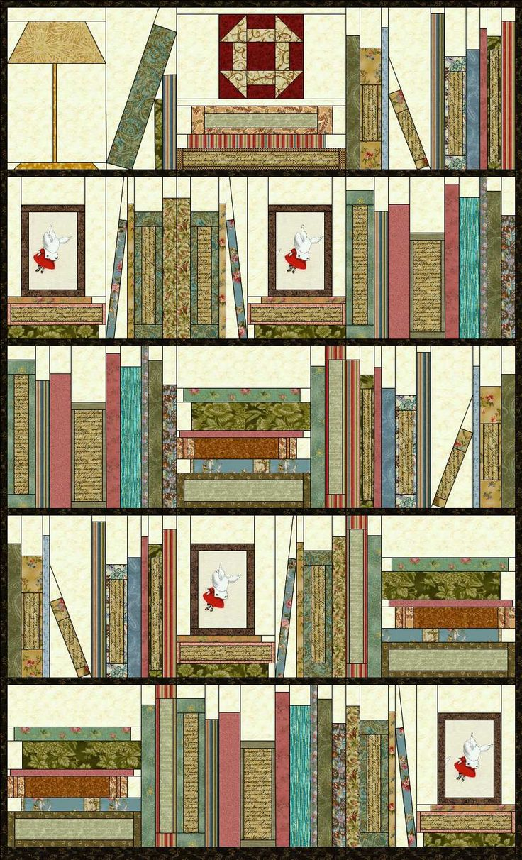 127 best images about Bookshelf quilts on Pinterest Book quilt, Quilting ideas and Bookshelves