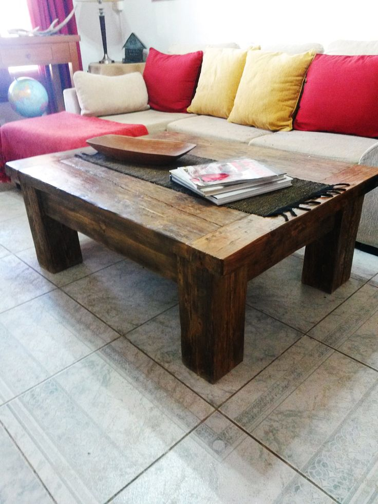 59 best mesas ratonas by antigua madera images on pinterest for Mesa ratona