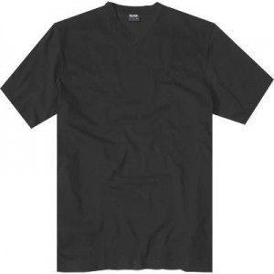 Korte mouw T-shirt met V-hals van Olympus. Ze zijn niet opvallend. Eenvoudige katoenen shirts in basis vormen en kleuren zijn de miskende helden van de tijd. Deze klassieke 'Olymp' T-shirts zitten in een dubbele verpakking.